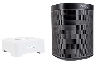 Play 1 Sistema Sonos Bridge Incorporado